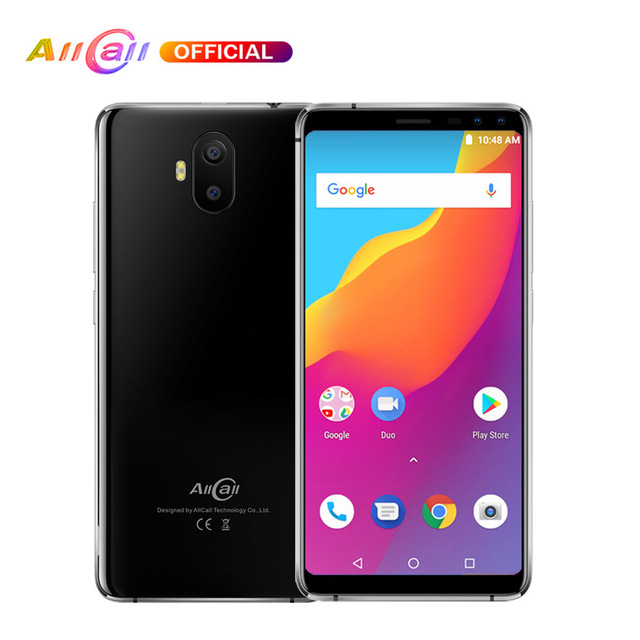 "AllCall S1 5.5"" 18:9 5000mAh Battery Android 8.1 MTK6580A Quad Core 2GB RAM 16GB ROM"