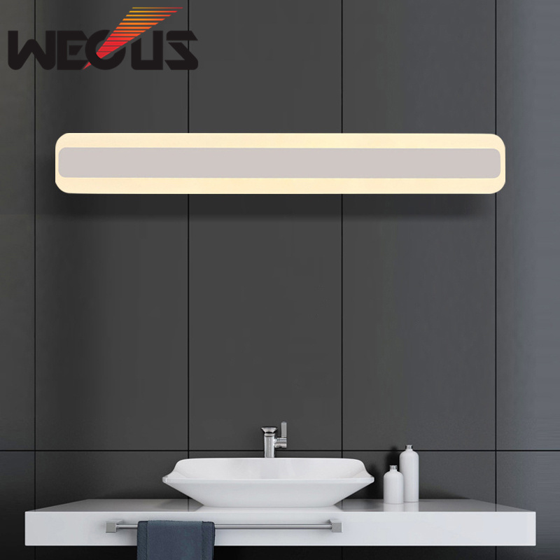 2017 Stylish 500mm Acrylic Mirror Wall Light 85 265v 16w