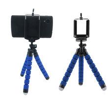 携帯電話デジタルカメラ柔軟なタコの足 iphone 4 用三脚 6 6 s 6 プラス 5 5s 4 4 サムスン S3 S4 S5 注携帯