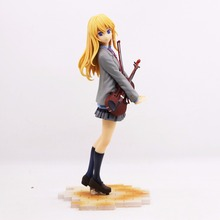 Good Looking Type Toys Figure Your Lie in April Miyazono Kaori Action Figure  PVC Model 20cm все цены