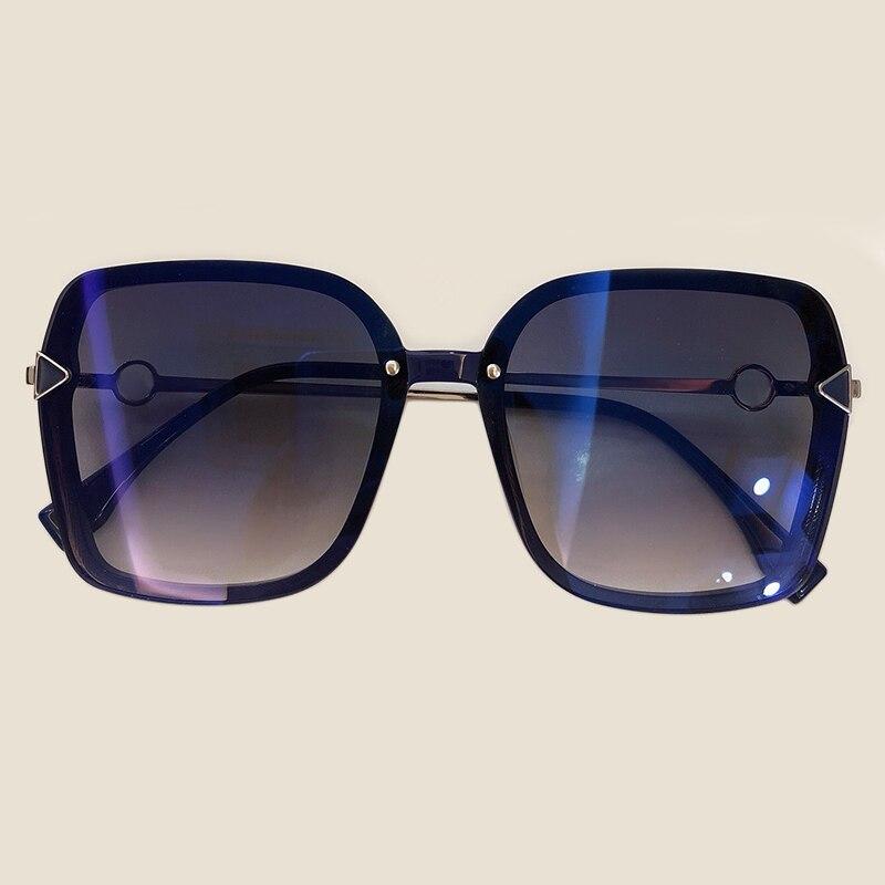Oversize Square Sunglasses Women 2019 Luxury Big Frame Shades Female High Quality Outdoor Fishing Sun Glasses