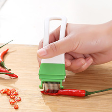 OLOEY Kitchen Onion Vegetable Slicer Shredder Manual Chopping Tools Garlic Graters Cutter Shallot Handle Knife Gadgets