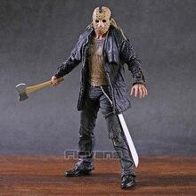 """NECA 2009 Auflage de luxe vendredi le 13th Jason Voorhees 7 """"figurine modèle jouet"""