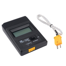 TM-902C Digital K Type Thermometer Meter Single Input LCD Temperature Detector + Thermocouple Probe Mayitr Measuring Tools