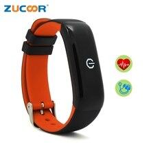 Zucoor Smart наручные часы Группа часы ZB95 Приборы для измерения артериального давления сердечного ритма Мониторы Плавание inteligente банда Pulso для IOS Android Для мужчин Для женщин