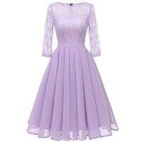 Sisjuly Ретро вечеринка фиолетовый Светло зеленый бежевый плиссированное платье для женщин сезон: весна-лето Цветочный кружево шифоновые пла