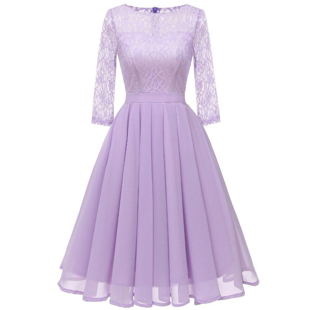 Sisjuly Ретро вечернее фиолетовое светло-зеленое бежевое плиссированное платье женские весенне-летние цветочные кружевные шифоновые платья