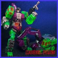 MODEL FANS Devastator IN STOCK NBK TF Transformation Robot KO GT Navvy Of Devastator Transparent Figure