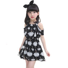 129c3b363 Niñas vestido de Bebé Vestidos Elegantes gasa playa adolescente de Niños de moda  Vestidos para niñas ropa de verano ropa de niño.