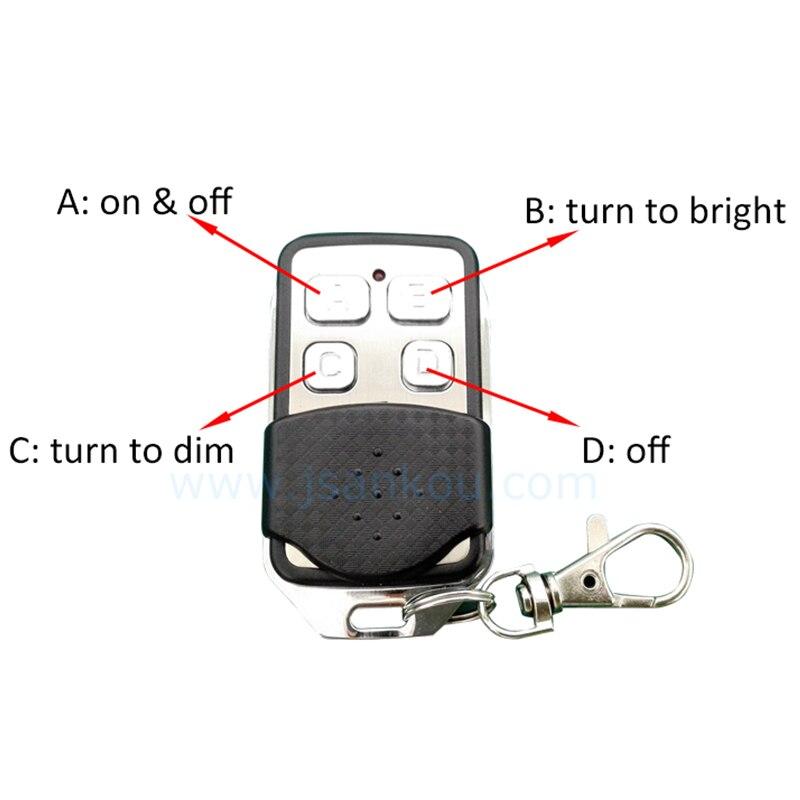 Domótica inteligente Regulador de Intensidad de Luz de Pared Accessaries RF Inte
