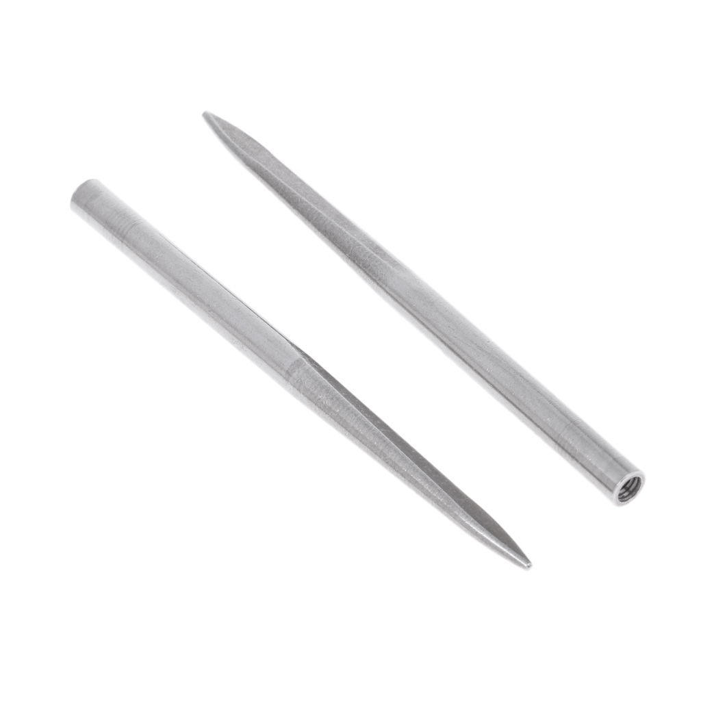 2pcs Aketek Stainless Steel 550 Paracord Fid Stitching Needles Lacing
