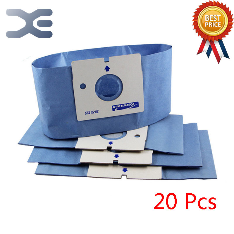 20Pcs High Quality Compatible With LG Vacuum Cleaner Accessories Dust Bag Paper Bag V-2940RAL / 3710Y / 982SER