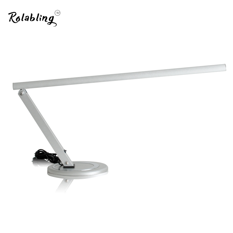 Rolabling New Arrival Eye Protection EU Plug 12W Small Table Lamp 220V Desk Lamp Little Convinent Reading Lamp For Manicure Art rolabling 110v