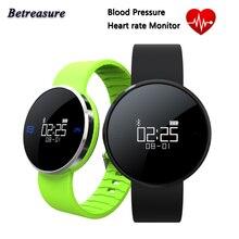 2017 betreasure Bluetooth Спорт Водонепроницаемый UW1X Smart Браслет Heart Rate Мониторы Приборы для измерения артериального давления Шагомер умный Браслет Одежда