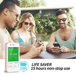 Image 4 - GlocalMe G3 4G LTE Unlocked Mobile WIFI Hotspot Worldwide High Speed No SIM No Roaming Fee Pocket WIFI Geek produced
