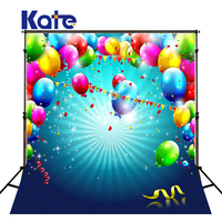 Kate Colorful Balloons Photography Backgrounds Children Backdrops Happy Birthday Photography Newborn Backdrop Stage Backgrounds