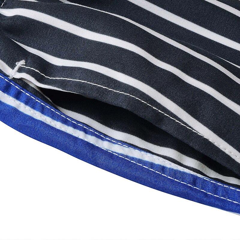 LKBEST pantalones cortos de moda para hombre de rayas de secado - Ropa de hombre - foto 6
