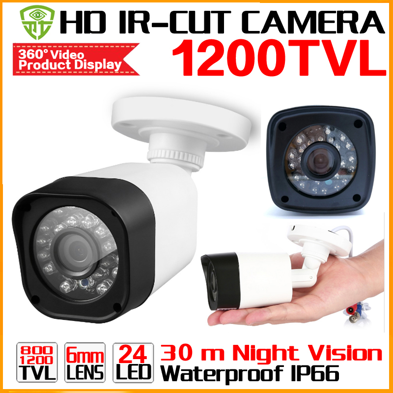 цены 3.28BigSale 1/3cmos 1200TVL Security Surveillance Video Outdoor Waterproof IP66 CCTV Analog hd Camera infrared Night Vision 30m