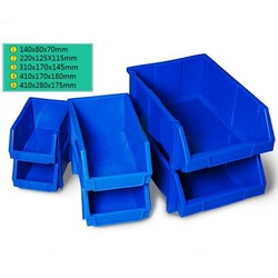 1 pièces bac de rangement rayonnage Garage stockage Rack outil organisateur boîte atelier épaissi combinaison composants boîte