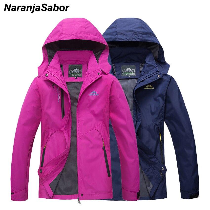 NaranjaSabor New Spring Men's Womens' Jackets Waterproof Men Coats Breathable Casual Coat For Women Clothing Male Sportswear 5XL