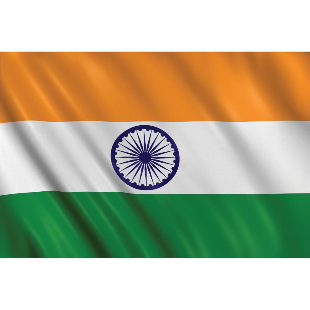 ✓PPP 5x3 ft bandera de la India - a451