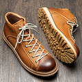 Hight Quality Mens Punta Redonda de Cuero Genuino Lace Up Martin Botas de Trabajo de Seguridad de Invierno Casual Oxford Botas de Desierto
