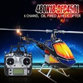 2016 New Arrival Brand New Global Eagle 480N 2.4G 6CH DFC Fuel Oil Nitro RC Helicopter Remote Control Toys RTF