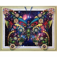 Butterfly 5D DIY Special Diamond Painting Embroidery Drill Needlework Cross Craft Stitch Kit Home Decor
