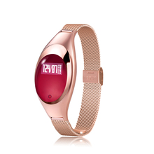 Women Fashion Smart Watch Bracelet High Definition LED Blood Pressure Heart Rate Monitor Pedometer Fitness Tracker