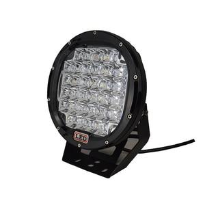 Image 2 - 2Pcs 9 אינץ LED עבודת אור בר 96W LED אור בר 12V 24V ספוט עבור 4WD 4x4 משאית קרוואן SUV Offroad סירת טרקטורונים נהיגה אור