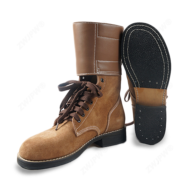 cccd550db6d2d Replica WW2 US Army M1943 ARMY Rough Out Ankle Boots American Leather Boots  All Sizes