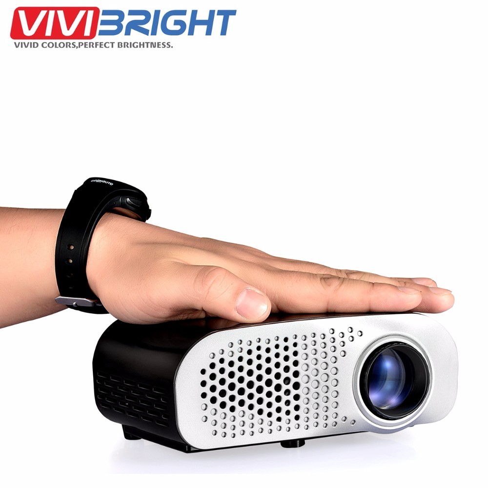 GP8S Like UC28 PRO HDMI Portable Mini LCD Projector Full HD Home Cinema Theater Entertainment Video