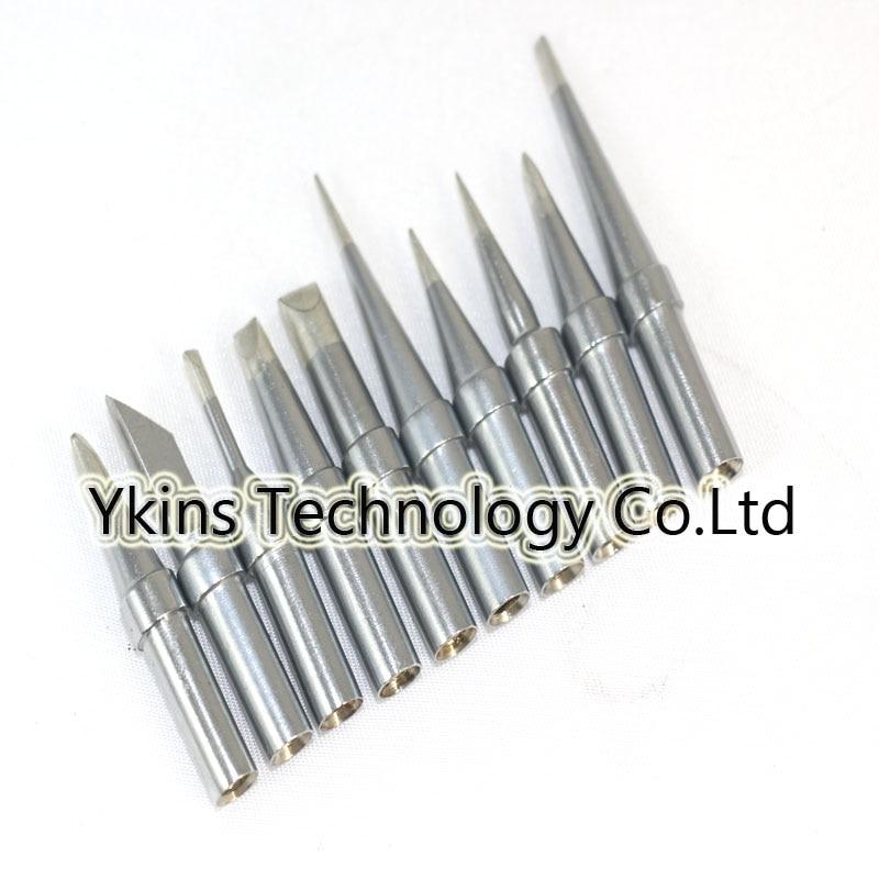 10pcs Solder Iron Tip WES51,WESD51,PES51 Soldering Station Tip For Weller WES51 ETS,ETL,ETKN,ETT,ETU,ETR,ETA,ETB,ETC,ETD