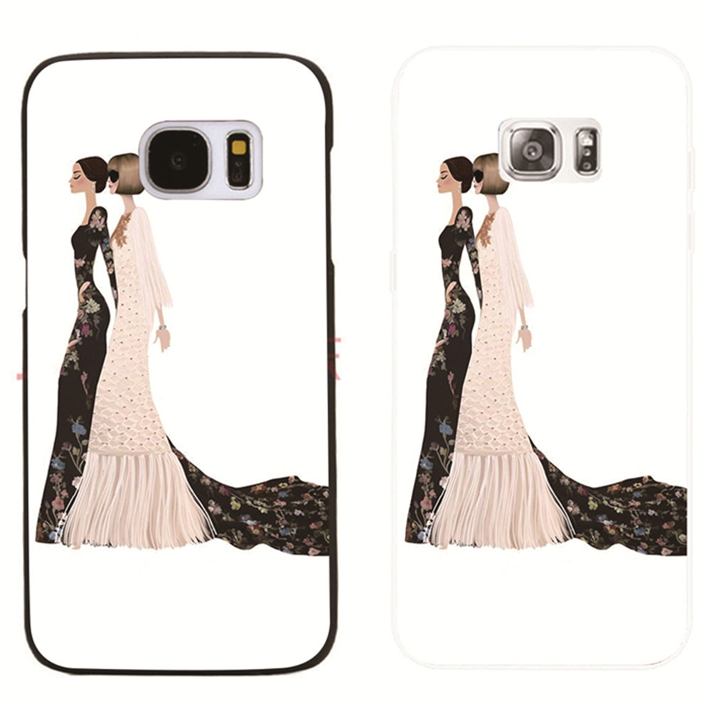 Funda For Samsung Galaxy S8 S8 Plus S3 S5 S7 S6 Edge s7edge Fashion <font><b>Queen</b></font> <font><b>phone</b></font> cover transparent <font><b>case</b></font>
