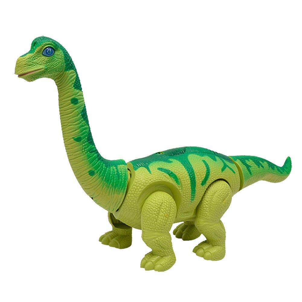 Electric Dinosaur Toy Simulation Dinosaur Model Toy Flashing Educational Plastic Cement Walking Interactive Laying Eggs Dinosaur