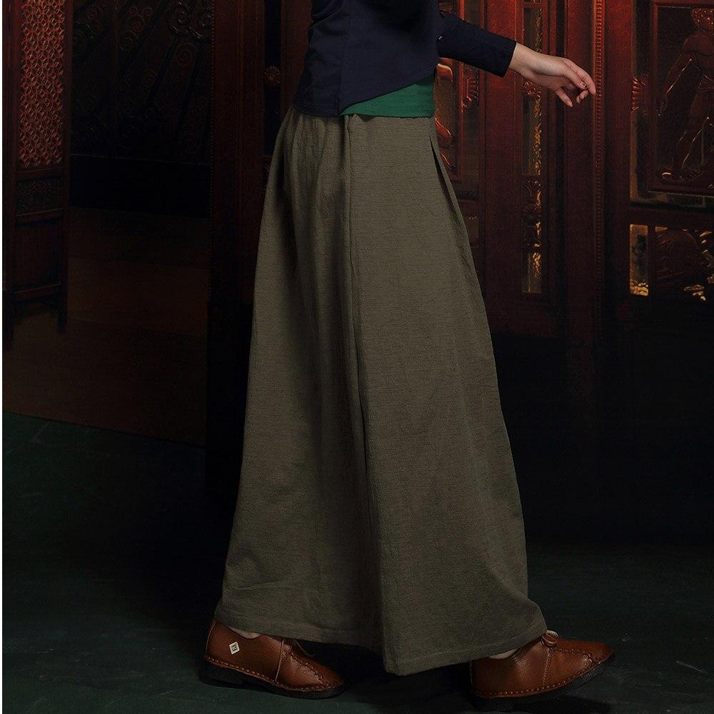 Longue maxi 6xl Pour Décontracté Grande Automne Vintage Lin Vêtements Femme Droite 2018 Jupe 5xl De Femme Taille Jupes Femmes Rétro Coton 4x6q7Uw8A