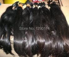 2016  Factory wholesale price 100%  cheap india hair ,india  hair bulk  virginal  hair extension brazilian hair weave bundles