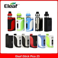 Original 85W Eleaf iStick Pico 25 Vape Kit w/ Ello Tank 2ml & HW Coil No 18650 Battery Vape Kit iStick Pico Box Mod vs DRAG 2