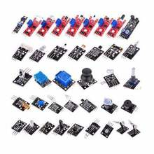 37pcs Sensor Module Kit Switch Flame Temperature Color LED Buzzer Replay for UNO R3 Mega2560 due Raspberry Pi