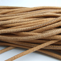 Hot Sell 10 Meters 5mm Round Suede Cashmere Brown Leather Cord With Soft Nap DIY Jewelry Fittings