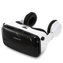 GEPRO VRความจริงเสมือนแว่นตา3Dกับพับหูฟังสำหรับ4-6นิ้วมาร์ทโฟนIPDปรับความยาวโฟกัสวิดีโอเกม