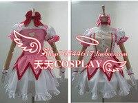 Puella Magi Madoka Magica Kaname Madoka Cosplay Costume K002