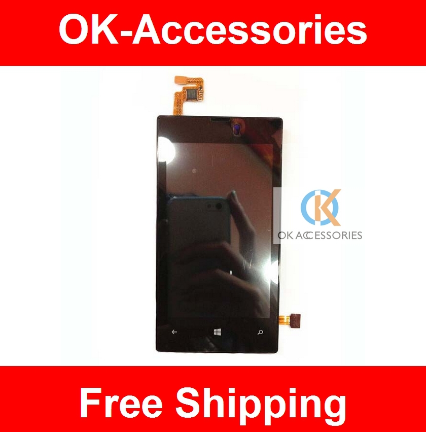 For Nokia Lumia 520 N520 LCD Display+Touch Screen With Frame 1PC/Lot