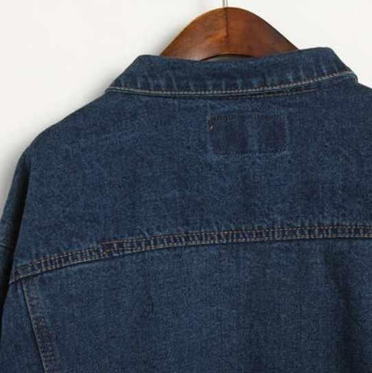 ... Мода 2018 Jaqueta Feminina Осень BF Свободные Универсальные джинсовые  куртки женские однобортные пальто Chaquetas Mujer S 7d45f1cfedb