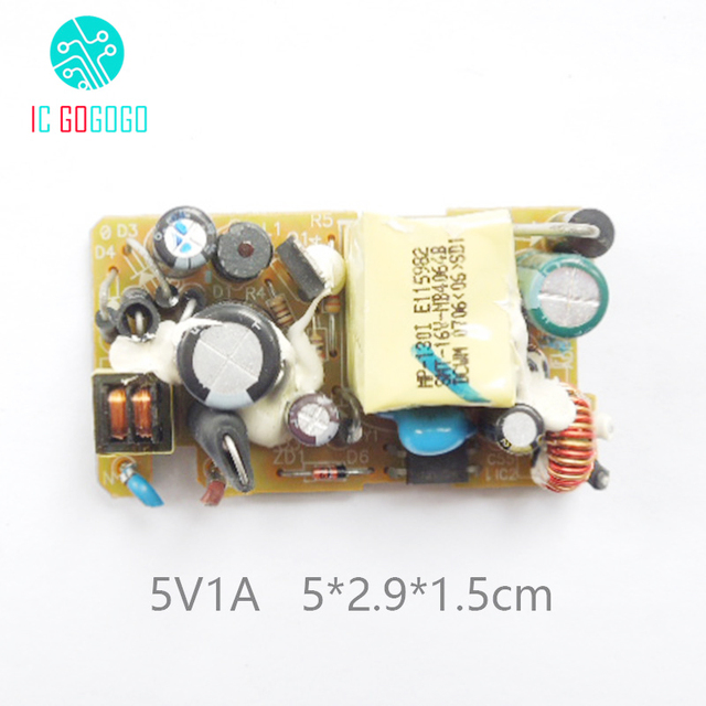 1000MA AC DC 5V 1A Switching Power Supply Bare Board Module for ...