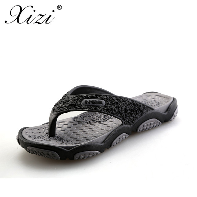 66363afe072a7d XIZI 2018 Summer Men Designer Flip Flops Men s Slides Casual Sandals  Fashion Slippers Men Breathable Beach Shoes Hot Sales