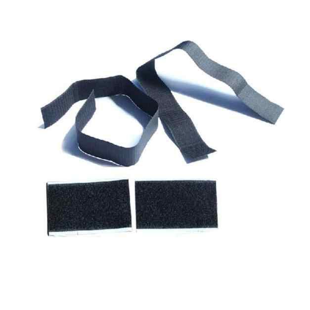 車のトランクストアコンテンツ袋迅速な消火器ホルダー清潔な安全強力な魔法テープストラップキット黒ナイロン J05