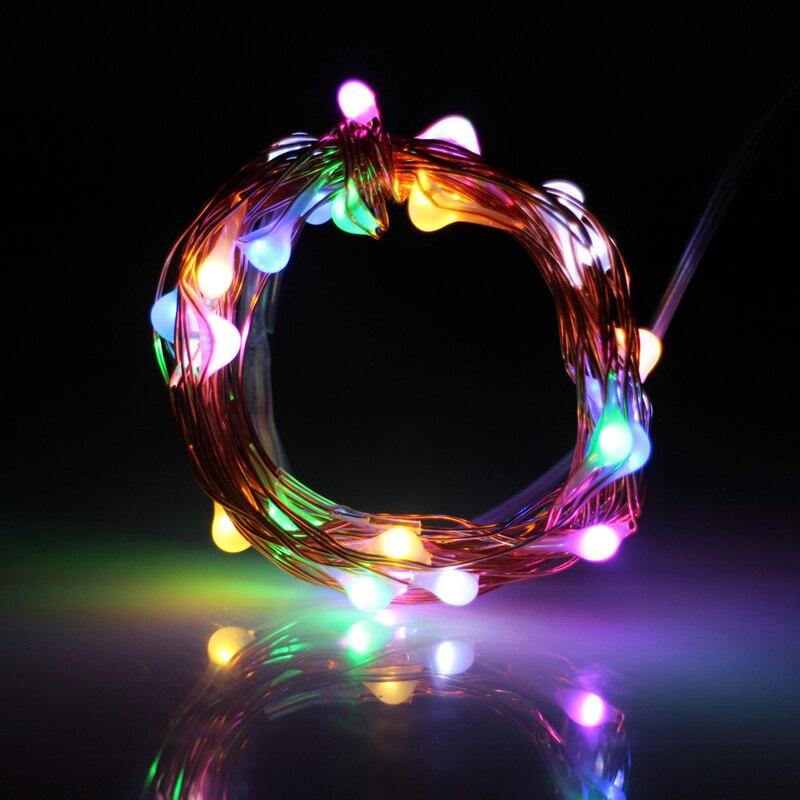 ᑐ3 M 30 LED Fio de Cobre Luz Da Corda LEVOU À Prova D  Água De ... 8020ceba25