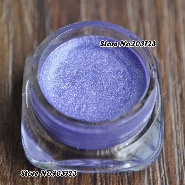 Hot sales mooie Blitse Shimmer Oogschaduw Eyeliner Glitter Crème Gel Pasta poeder licht paars N06