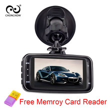 Chonchow GS8000L Видеорегистраторы для автомобилей Камера видео Регистраторы 1080 P 2.7 дюймов Full HD 1080 P 120 градусов Сенсор Ночное видение регистраторы черный ящик
